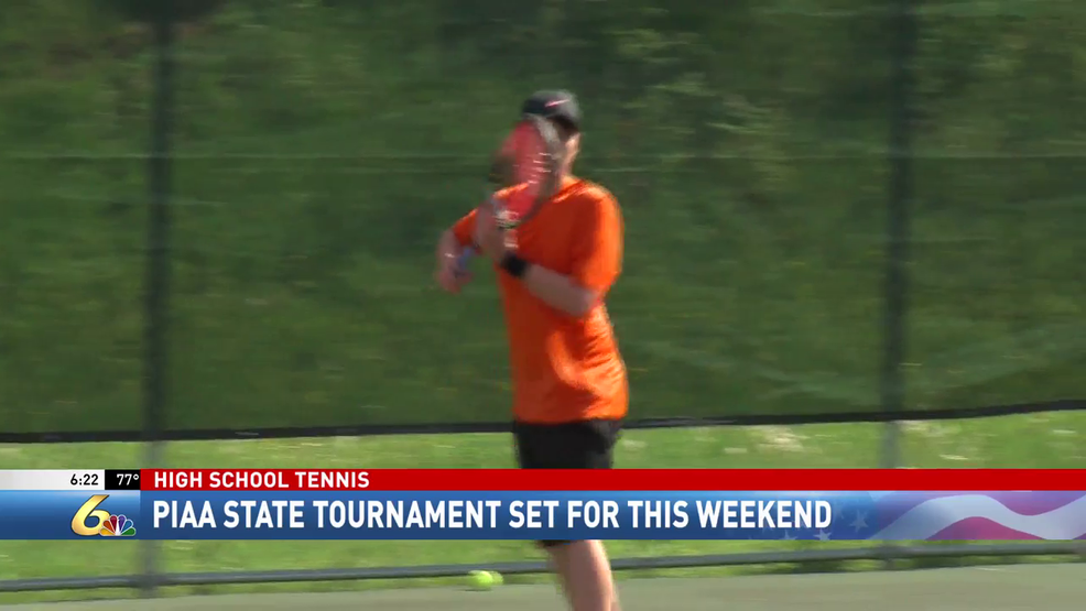 Kush, Kozar prepare for PIAA tennis tournament together