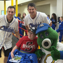 Omaha Storm Chasers visit children at Madonna Rehab Hospital