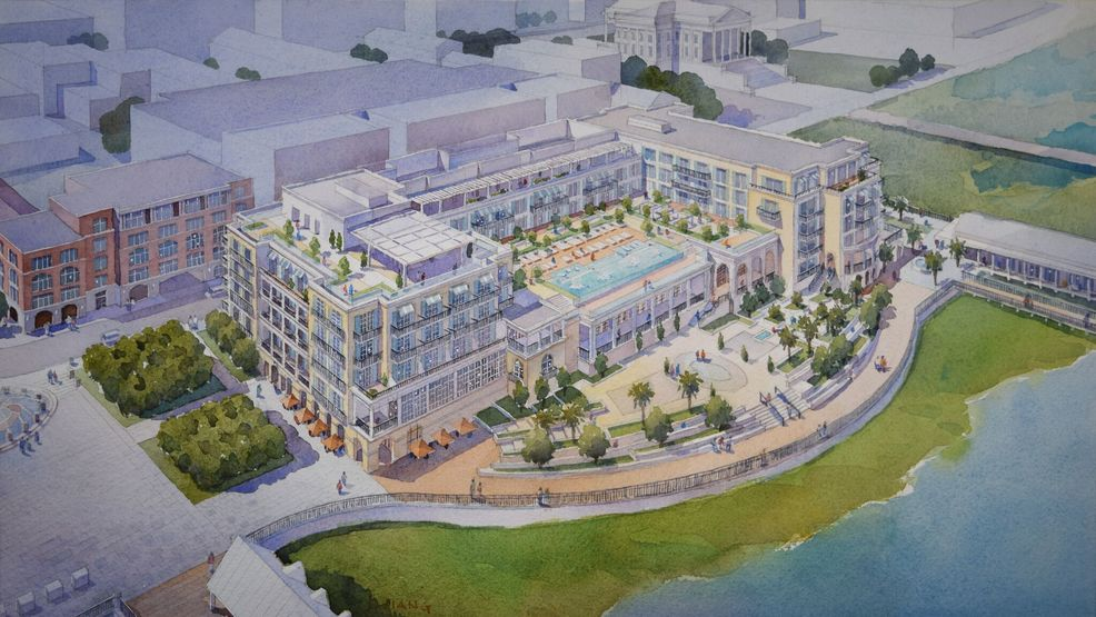 Charleston Board Of Architectural Review Roves Waterfront Hotel