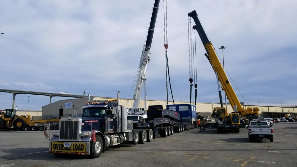 UAB's newest cancer-killing cyclotron arrives in Birmingham