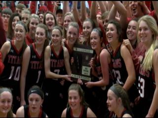 Cinderella lives!!! West Hancock cuts down the nets on their home court for Regionals{&amp;nbsp;}<p></p>