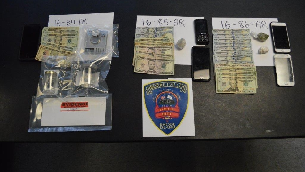 burrillville police seize cash and heroin in three separate busts wjar