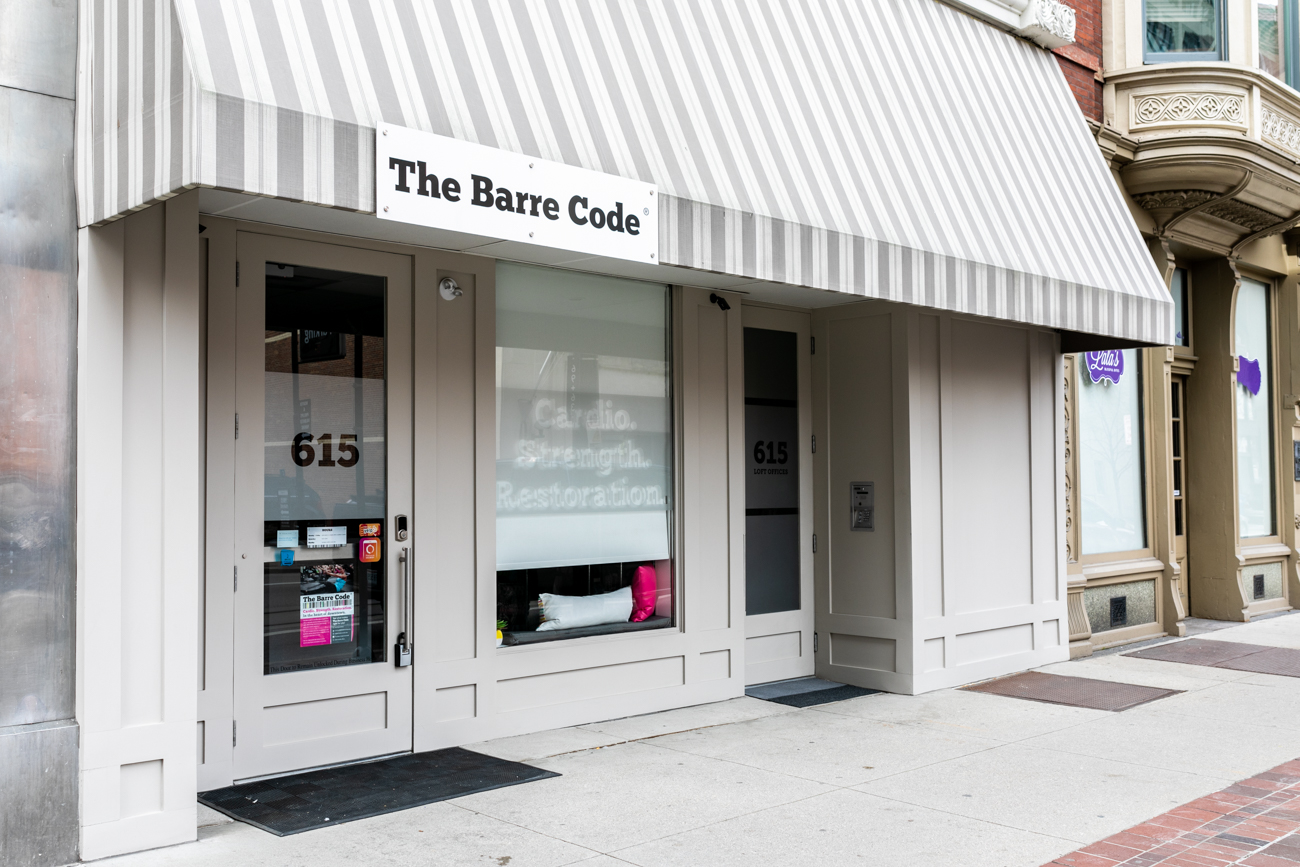 "The Barre Code is celebrating their upcoming 2nd anniversary with an entire week of free classes from 4.22 through 4.28. Owner Michelle Ziegler wants to provide people from across the area the opportunity to see what it's like to ""live by the Barre Code."" Getting people to discover their strengths and have access to a welcoming fitness program have always been Michelle's main goals.  ADDRESS: 615 Main Street (45202) / Image: Amy Elisabeth Spasoff // Published: 4.15.19"