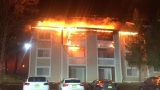 Clarendon Heights apartment complex catches fire, no injuries reported
