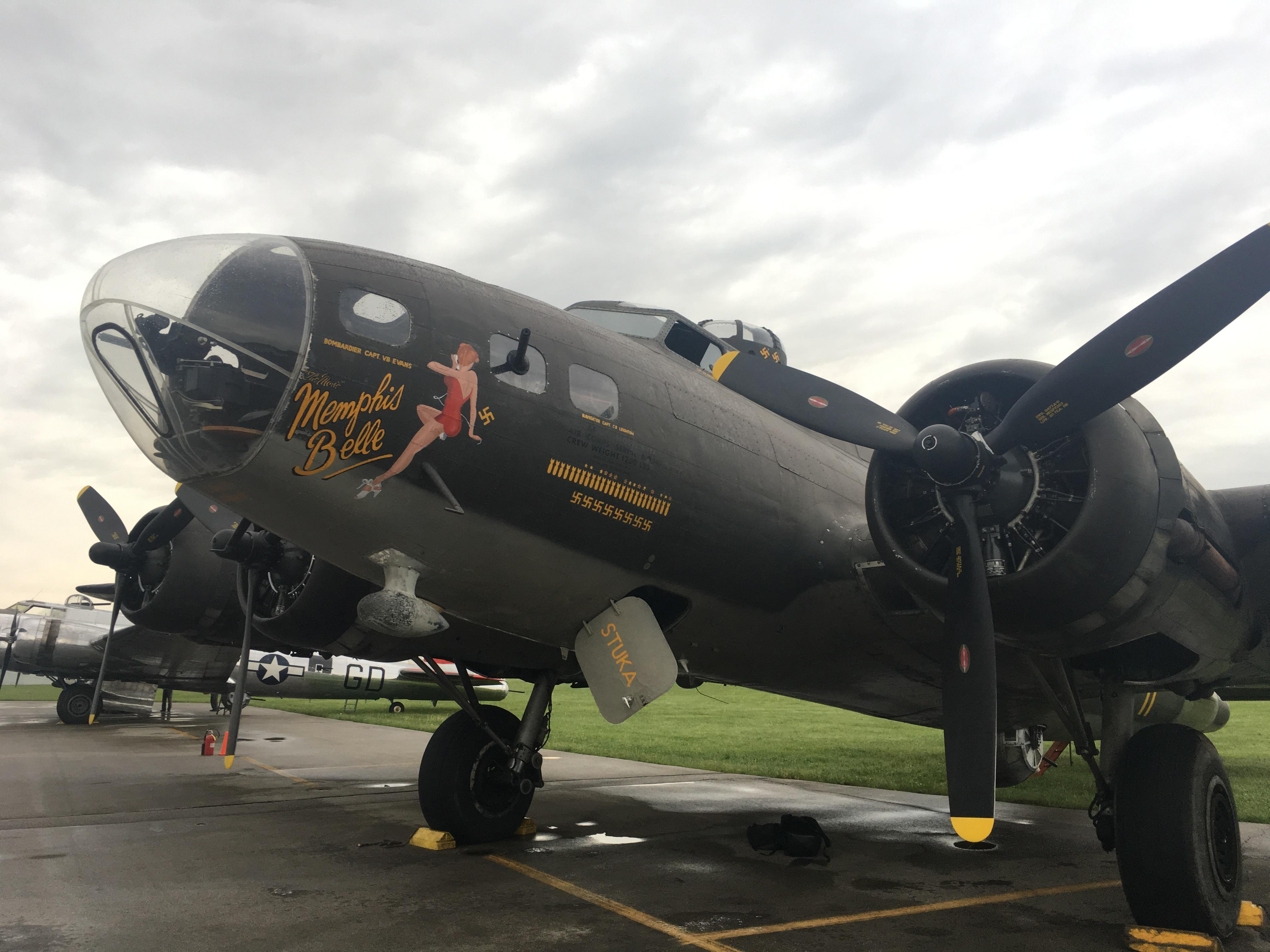 WWII era planes take off from Urbana's Grimes Field to fly over Museum of U.S. Air Force(WKEF/WRGT)