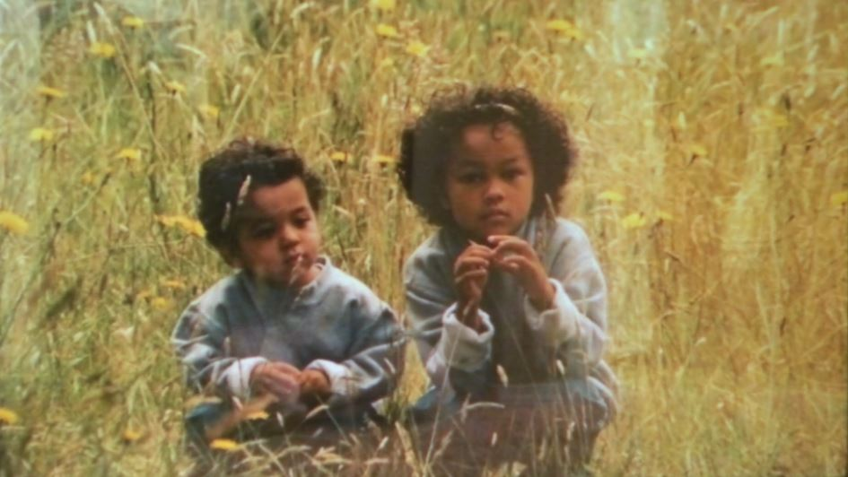 Dmetri and Adrianna in their childhood.