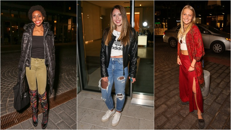 Thanksgiving usually makes us want to break out the stretchy pants, but there's plenty of other chic looks to wear around town in November. Here are some of the most interesting outfits we saw. (Amanda Andrade-Rhoades/DC Refined)