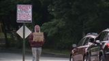 Newly installed signs ask drivers in NH to give to charities, not panhandlers