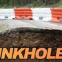 Sinkhole closes lanes of I-24EB in Clarksville