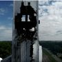 Four days after explosion, grain elevator still stands, but incoming storms are a concern