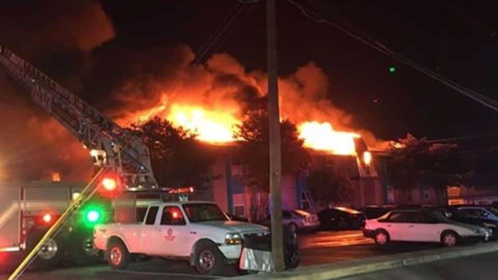 Six injured, one critically, in San Marcos apartment complex fire | WOAI
