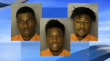 Three Coastal Carolina University students arrested for strong armed robbery