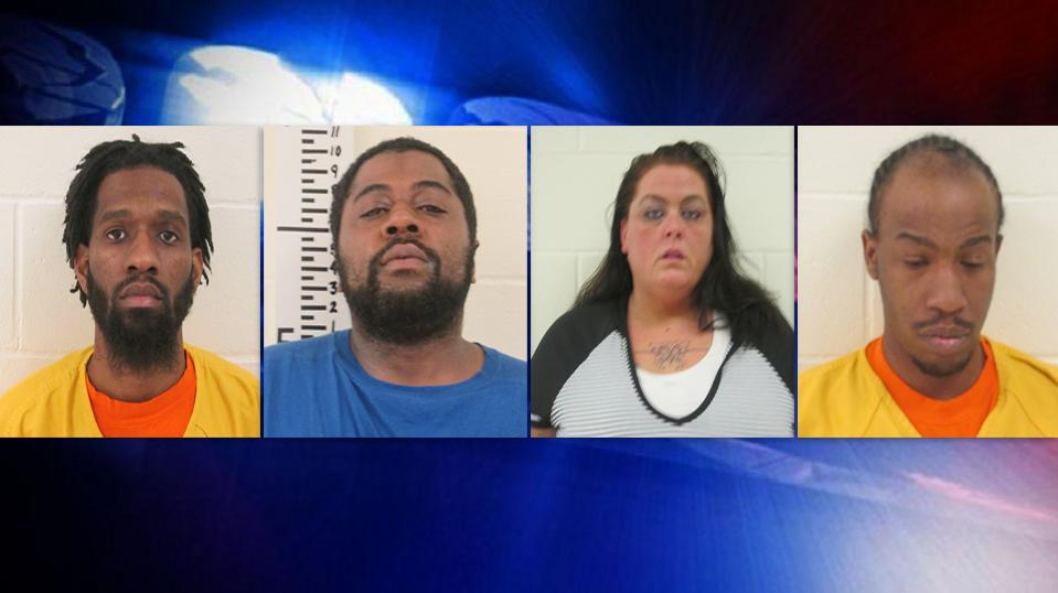 Agents charged 37-year-old Shanna Pepin, of Biddeford, 35-year-old Kelvin Rodgers of Biddeford, 26-year-old Ricardo Middleton of Kennebunk, and 32-year-old, Roshawn Drane of Dedham, Massachusetts, with aggravated trafficking in schedule W drugs (crack cocaine). (York County Jail)