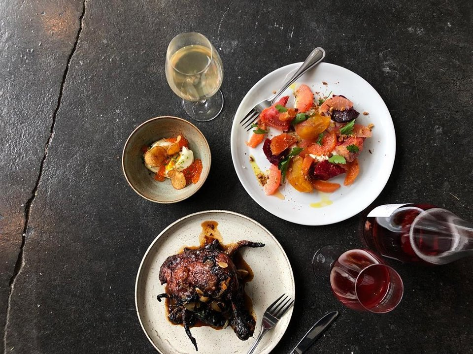 Drifter's Wife just landed a spot on the Top 10 best new restaurants for 2018, so a stop at this funky natural wine bar with small plates and a wine store is a must visit. (Image: Courtesy Drifter's Wife)