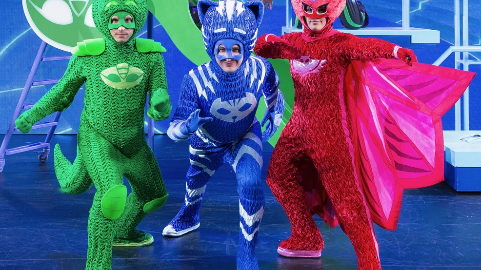 """PJ Masks Live! Time to Be a Hero"""