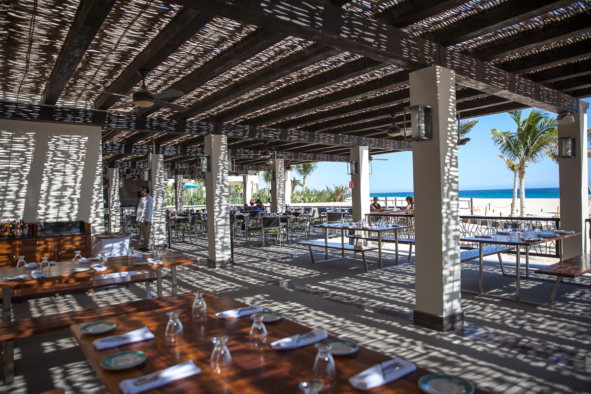 Zaffiro Italian restaurant at Hyatt Ziva Los Cabos (Images: Paola Thomas / Seattle Refined)