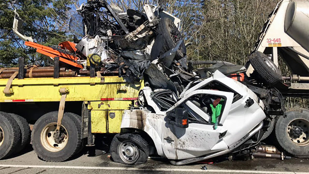 Horrific crash turns highway work zone into near-death zone | KTVL