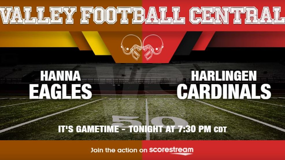 Listen Live: Brownsville Hanna Eagles at Harlingen Cardinals
