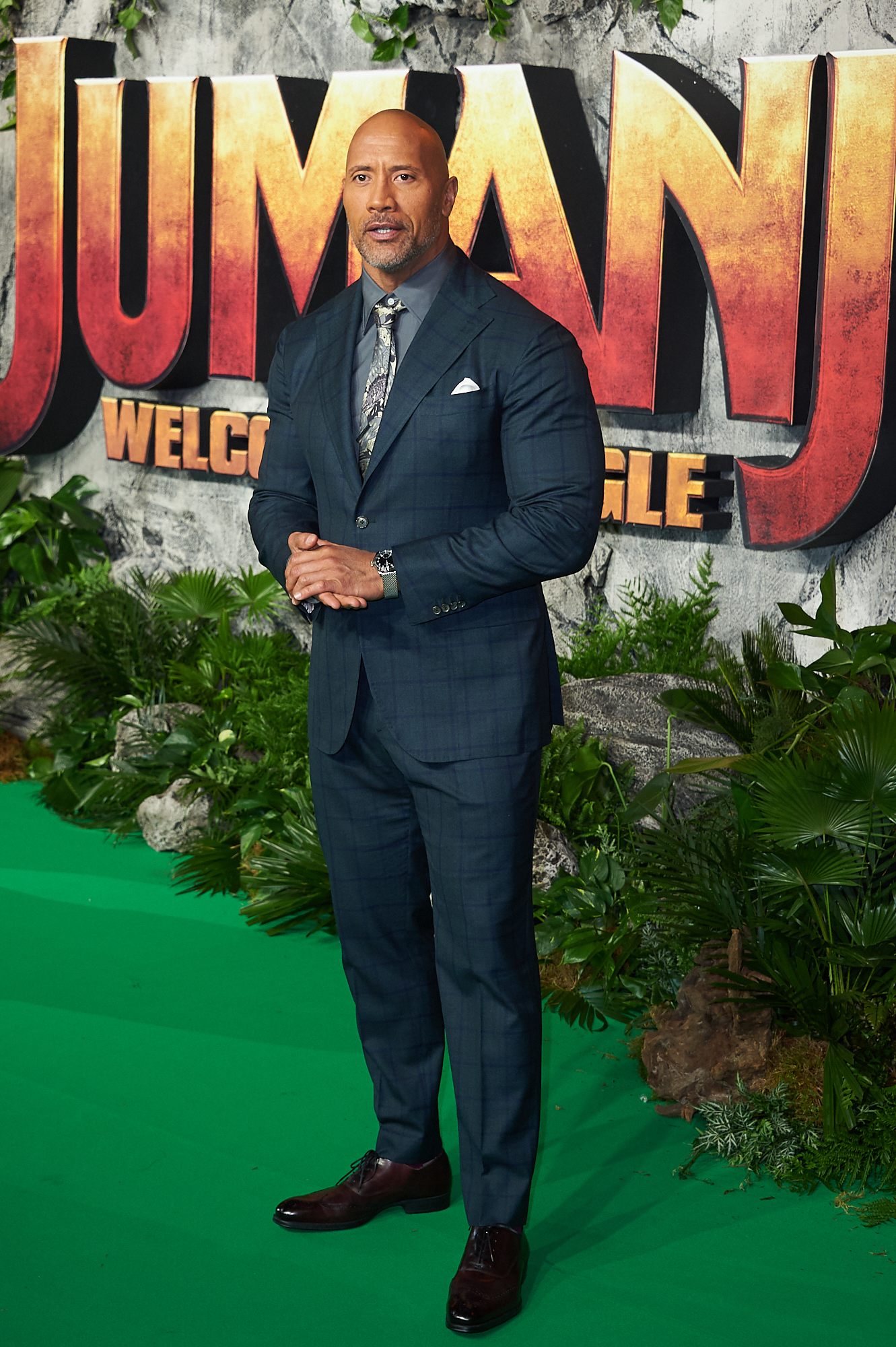 'Jumanji: Welcome to the Jungle' U.K. Premiere - Arrivals  Featuring: Dwayne Johnson Where: London, United Kingdom When: 07 Dec 2017 Credit: WENN