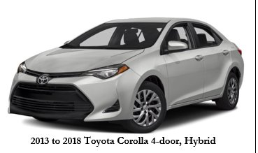 Police are looking for a silver 2015 to 2018 Toyota Corolla 4-door Hybrid (Photo courtesy Seattle Police Department){&amp;nbsp;}<p></p>