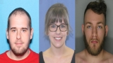 Do you recognize these faces? Police searching for 3 people wanted for writing bad checks