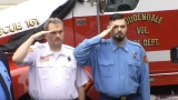 Loudendale volunteer fire chief killed in accident laid to rest Saturday