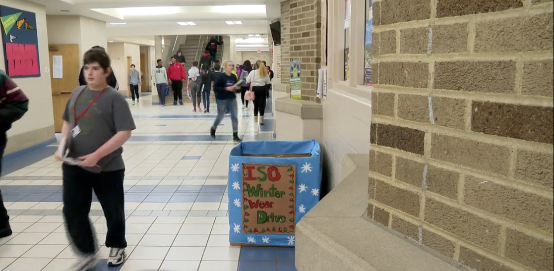 International students from South Bend school start coat drive for peers. // WSBT 22<p></p>