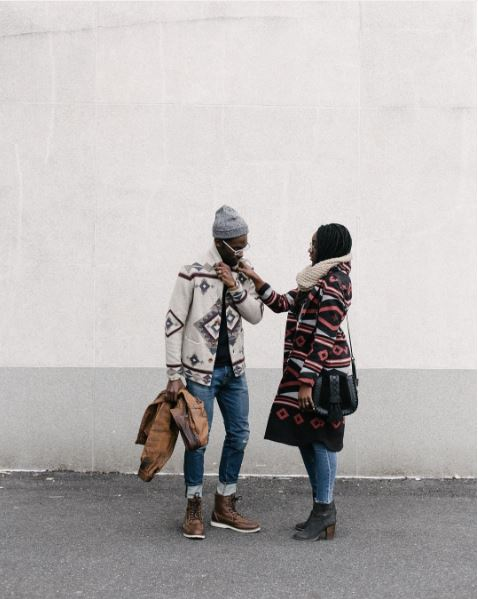 IMAGE: IG user@tamon_ / POST: Wish Us Luck || Winter Moves @luckybrand