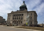 The Manitowoc County Courthouse is seen, March 20, 2017.
