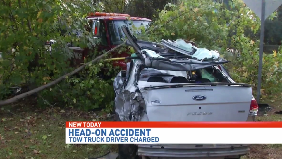 Tow Truck Driver Charged Following Head On Lillian Highway