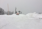 Snow in the parking lot at Timberline Lodge - KATU photo from Jackie Labrecque.jpg
