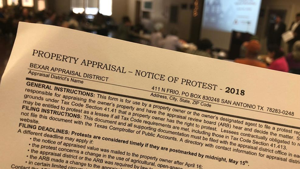 Contest Property Tax San Antonio