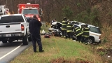 Woman killed, Nashville Fire District Chief in critical condition following crash