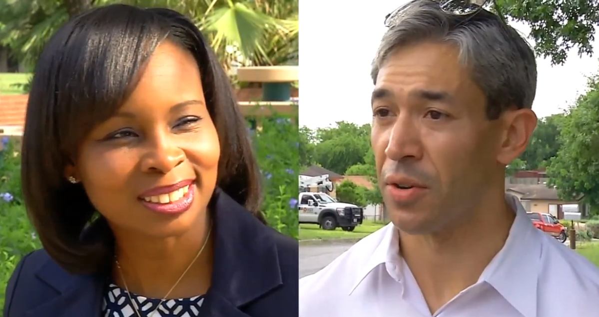Mayor Ivy Taylor conceded to challenger Ron Nirenberg in San Antonio's mayor's race Saturday night,