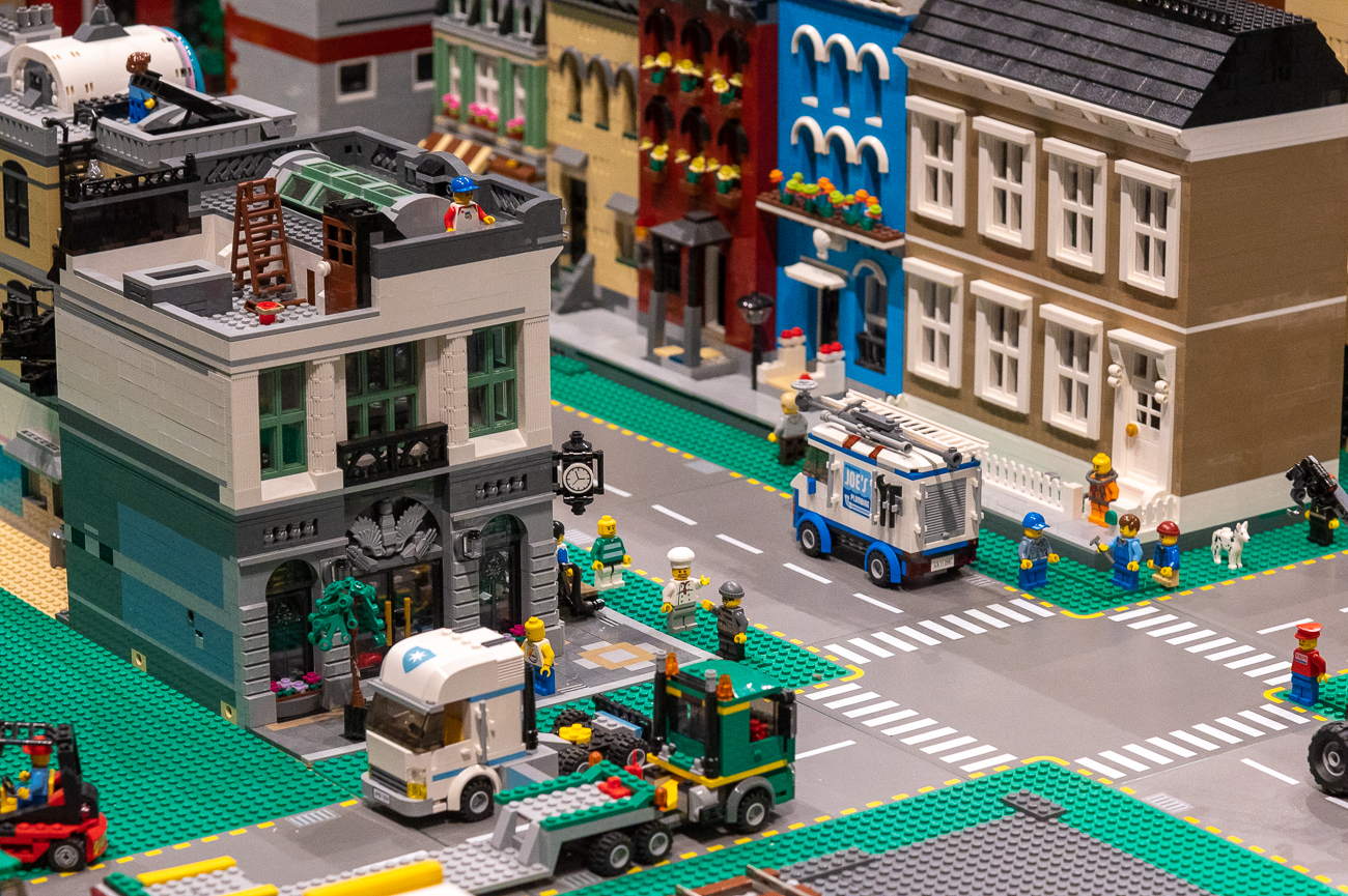 Brickopolis, CMC's massive LEGO collection makes a return this year, too. / Image: Phil Armstrong, Cincinnati Refined // Published: 11.15.20