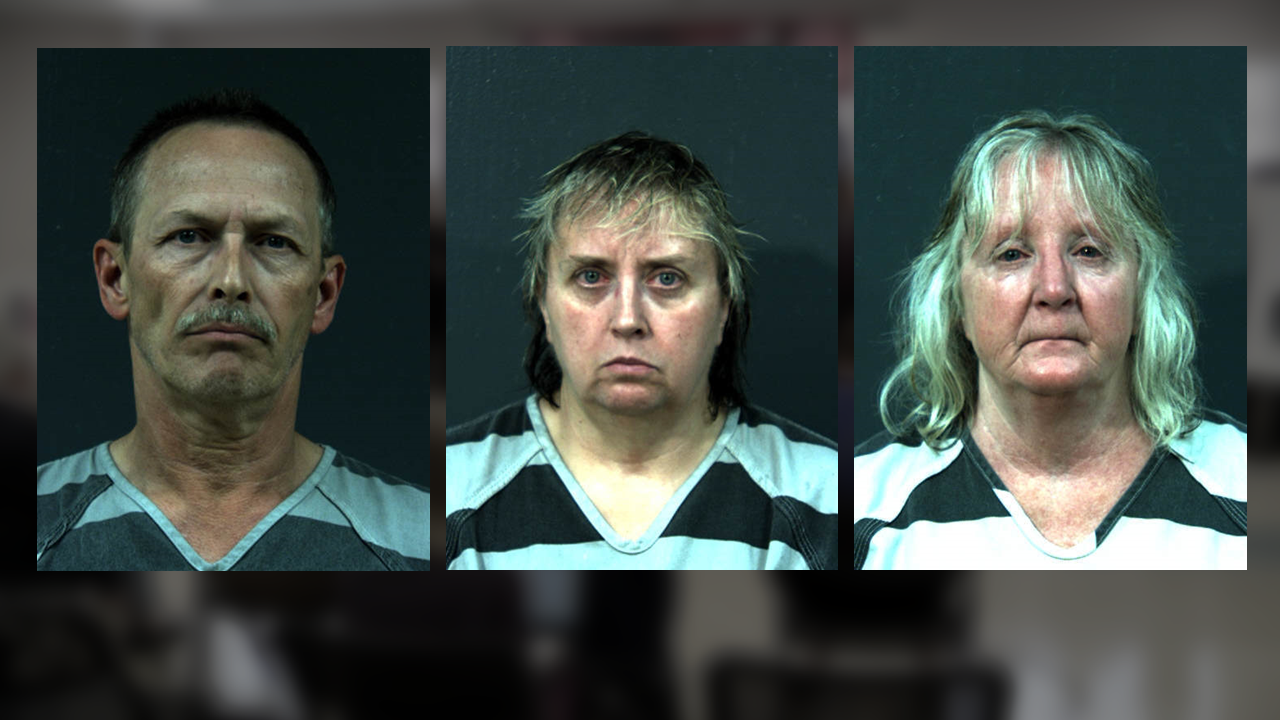 Keith Seppi, Cindy L. Shields and Donna J. Seppi. (Oneida County Sheriff's Office)