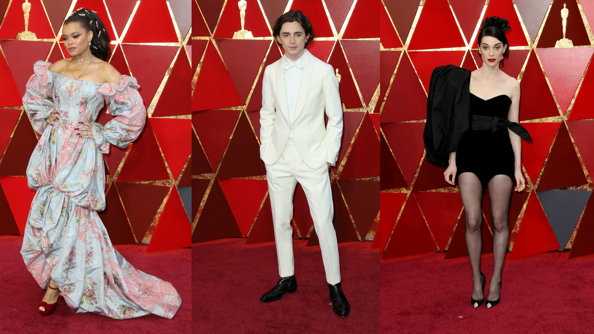 Is it wrong if I say the NO fashion moments of any awards show are always my favorite? Here are 12 that had me SMDH last night. (Images: Courtesy WENN.com)