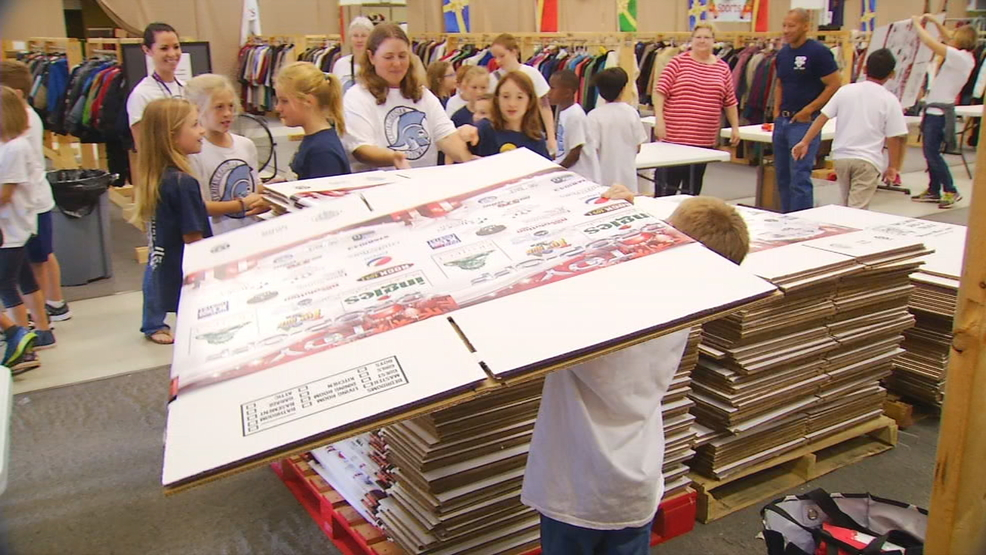 Eblen Charities Toys For Tots : Local students help eblen charities prepare for christmas
