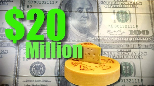 The USDA is buying $20 million worth of cheese to ease the nation's surplus and assist food banks and pantries.