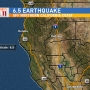 6.5 magnitude earthquake hits off the coast of northern California