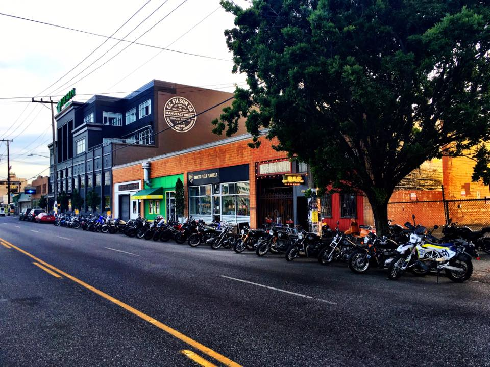 This beloved SODO biker bar is the perfect spot to kick back with a fistful of peanuts and ice cold Rainier. (Photo: Courtesy Hooverville)<p><br></p>