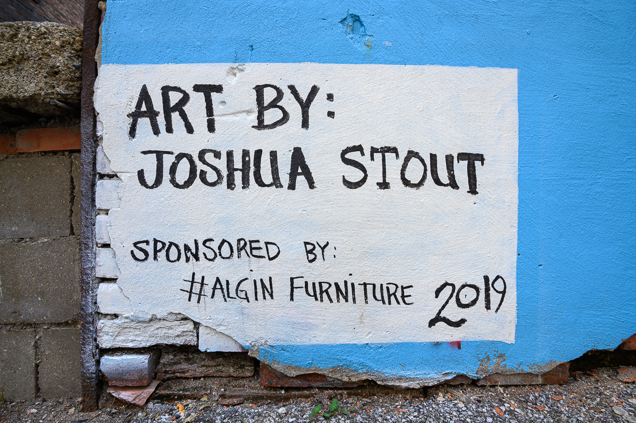 Josh Stout's signature / Image: Phil Armstrong, Cincinnati Refined // Published: 8.10.19
