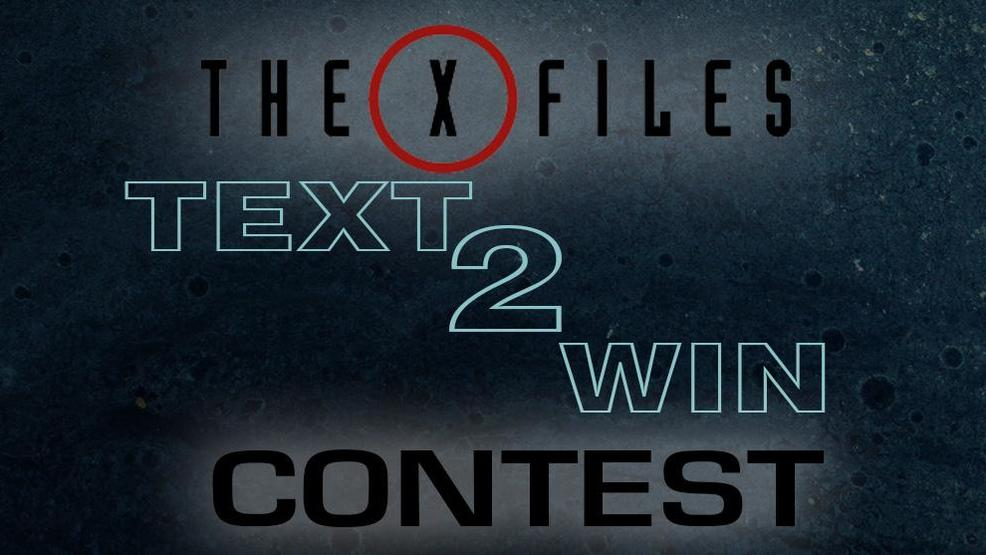 X-Files Text to Win Contest Rules