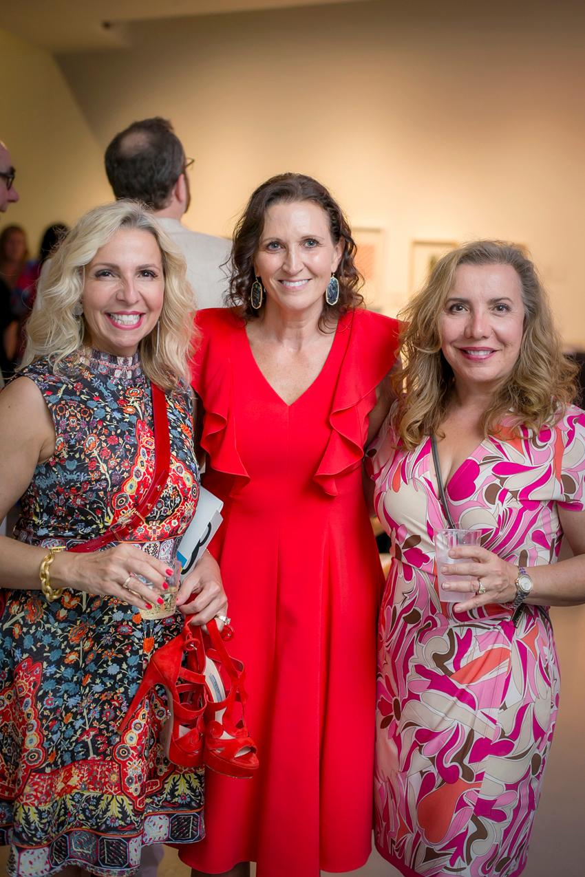 Litsa Spanos, Kerry Benedites, and Sylvia Rombis{ }/ Image: Mike Bresnen Photography{ }// Published: 8.24.19