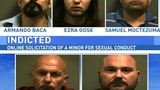 Five men indicted for online sex crime