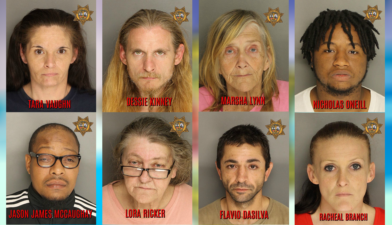 Berkeley County Drug Sweep Arrests, March 1-2 (Berkeley County Sheriff's Office)<p></p>