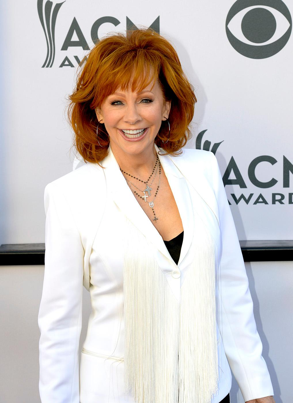 Reba McEntire walks the Academy of Country Music Awards red carpet at T-Mobile Arena. Sunday, April 2, 2017. (Glenn Pinkerton/ Las Vegas News Bureau)