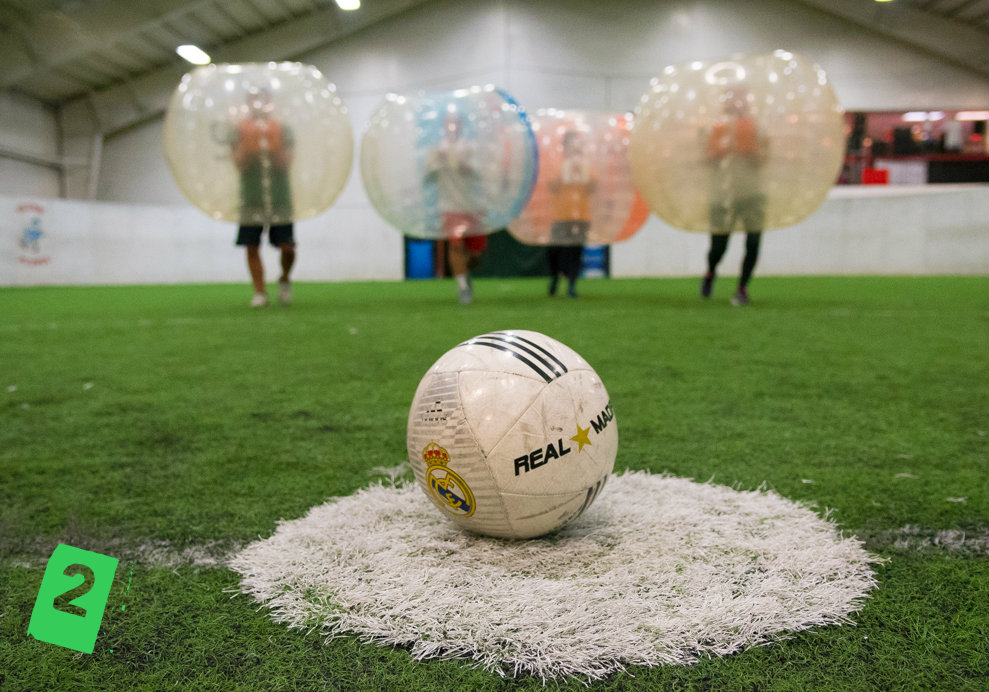 #2 - We played, survived, and then wrote about our bubble soccer experience. Take a look at the hilarious recap + more pics in the Lifestyle section. / Image: Phil Armstrong, Cincinnati Refined